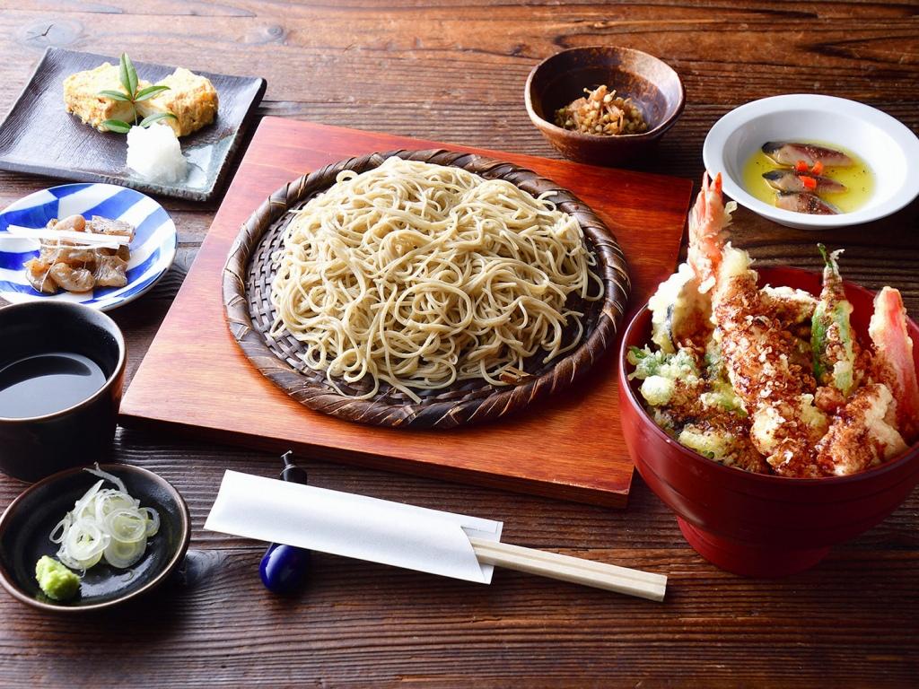 まくらぎ御膳(お蕎麦とミニ天丼)