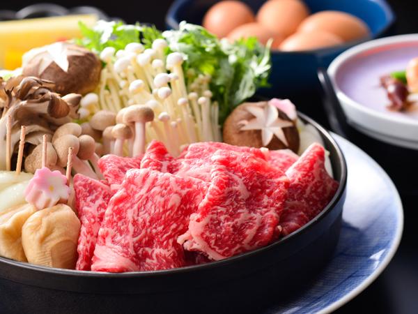 【期間限定】大阪屋特選!上州牛すきやき懐石プラン