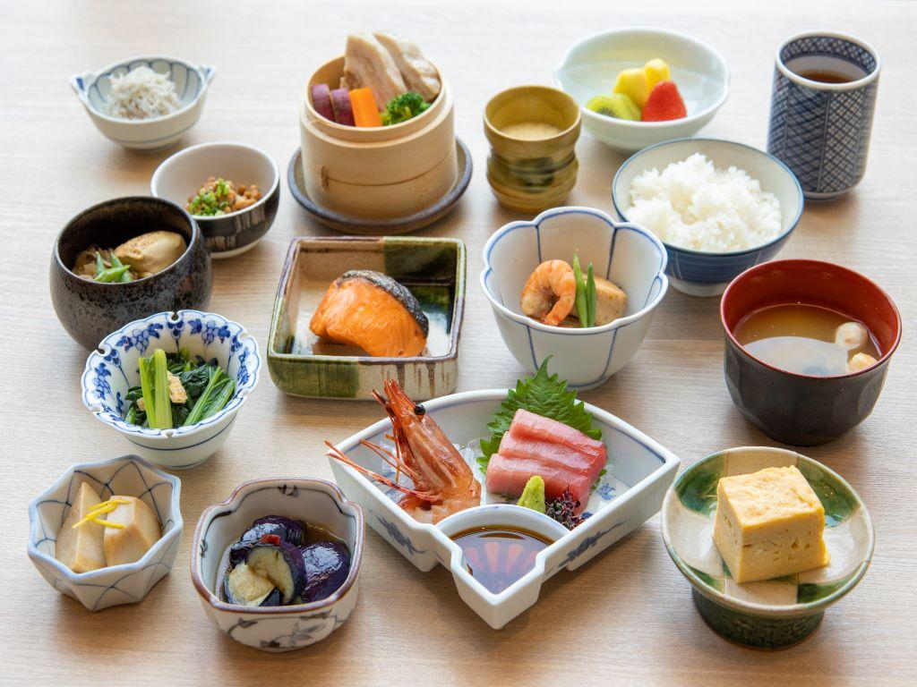 Breakfast Buffet at Hanagoyomi (15th floor)