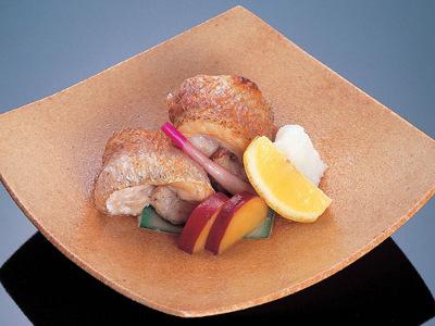 旬の地魚の焼物一例
