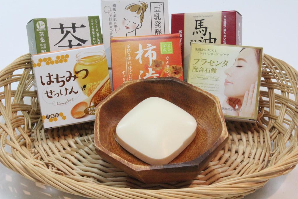 6種類の石鹸
