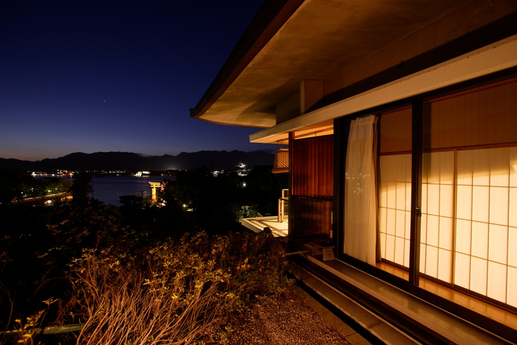 502露天風呂客室からの眺め