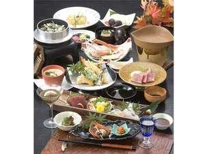四季折々の自然の恵みを堪能出来る会席料理