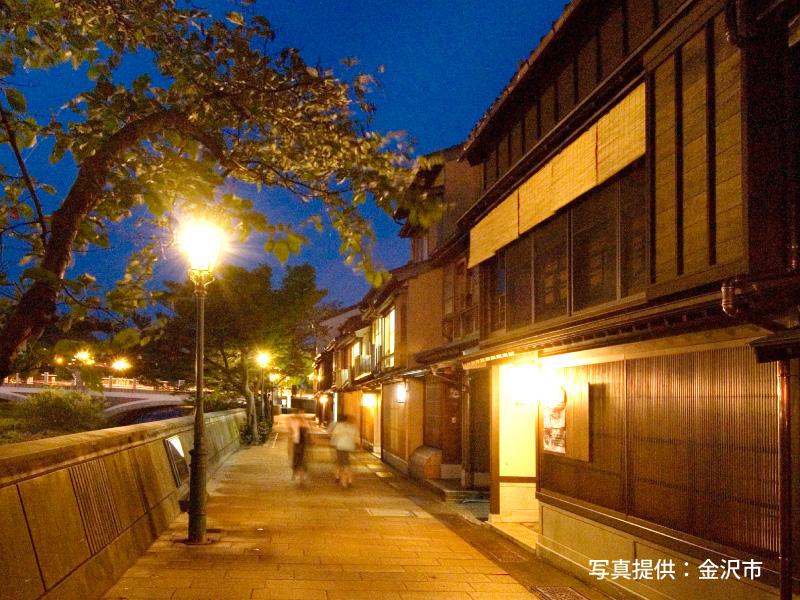 チェックインの時間を気にせずに金沢の旅を夜までお楽しめます