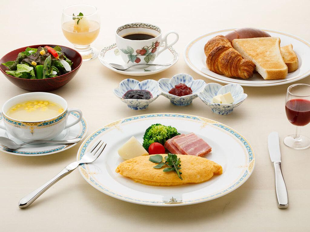 朝食【鳳凰/洋朝食】一例