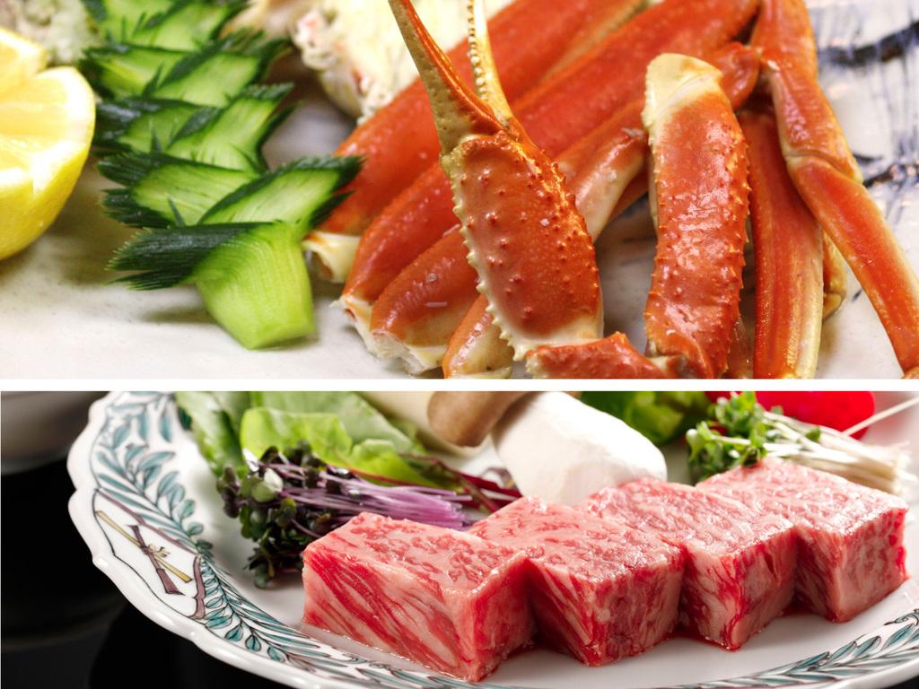 本館/蟹半杯和牛ステーキ