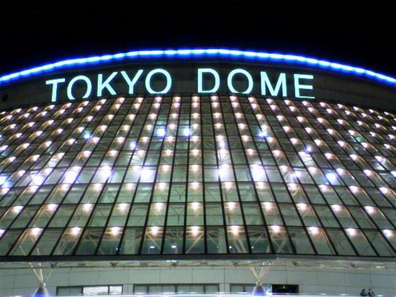 東京ドームが目の前!