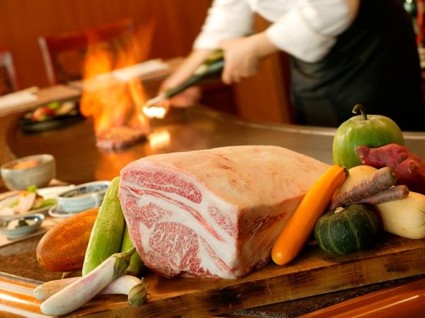 厳選近江牛の鉄板焼料理