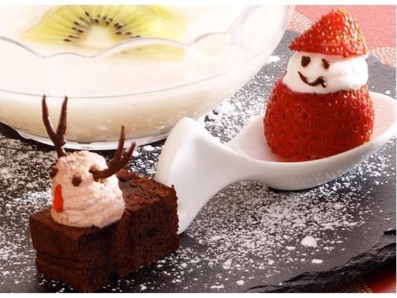 クリスマスディナー♪ (デザート例)