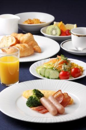 朝食バイキング洋風メニュー盛り付け一例 ※イメージ