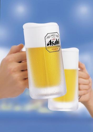 生ビール2杯無料、3杯目からは半額