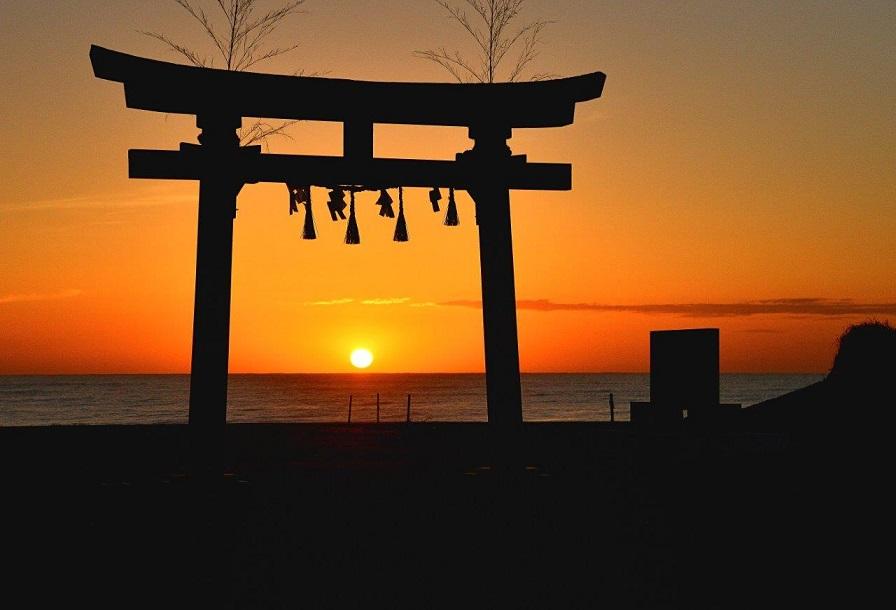 釣ケ崎海岸の日の出