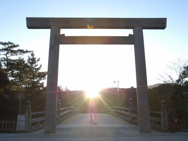 秋の伊勢神宮参拝におすすめです