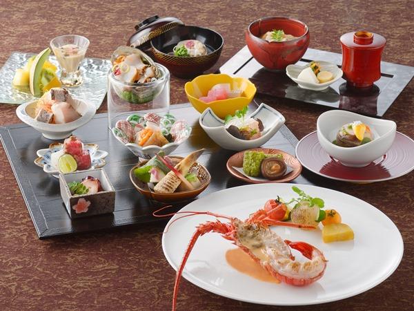 【ご夕食】味覚  ※2019.4月〜9月の料理イメージ