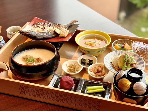【特別朝食】朔日粥 ※写真はイメージとなります