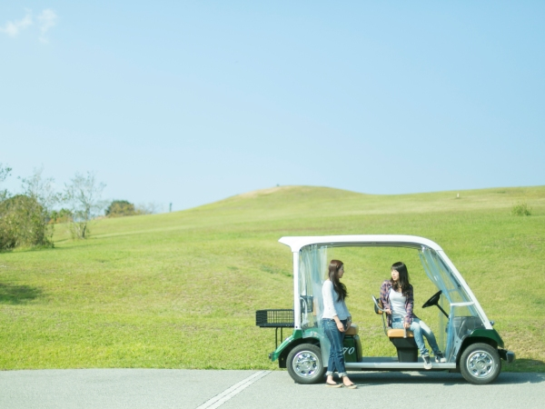 【ランドカー】敷地内の移動に便利な散策用カート ※有料