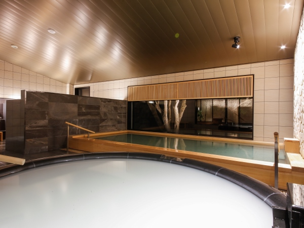 【KIYORA】 3つの湯をめぐる、ここでしかできない癒し体験 *写真は女湯