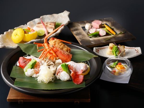 【ご夕食】 海懐石 ※1〜2月のお料理イメージとなります