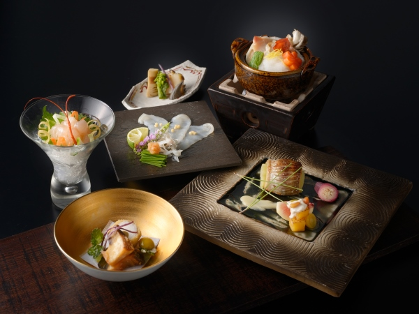 【ご夕食】 月懐石 ※1〜2月のお料理イメージとなります