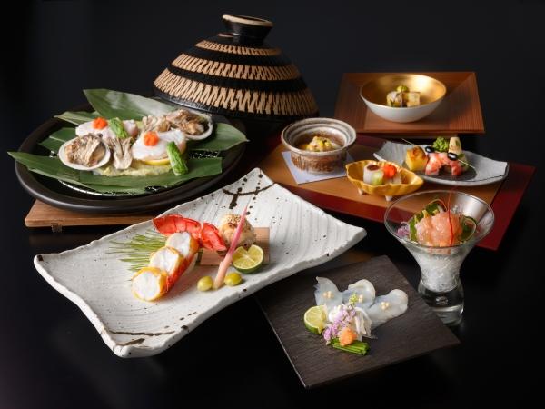 【ご夕食】 山懐石 ※1〜2月のお料理イメージとなります