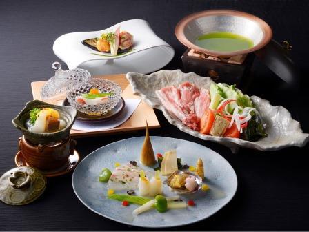 【ご夕食】伊勢志摩ブランド豚「パールポーク」のしゃぶしゃぶ ※写真はイメージとなります
