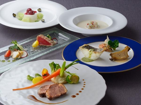 【ご夕食】洋食コース ※4月〜6月の料理イメージ