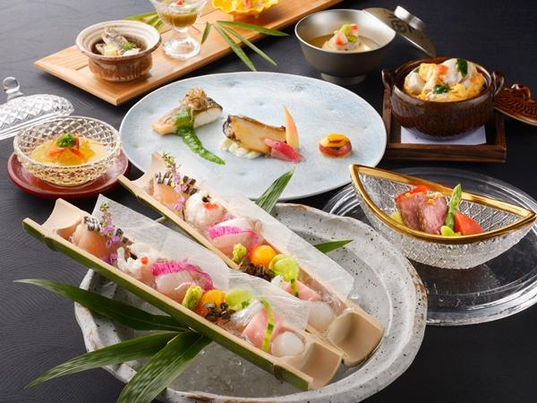 【ご夕食】 海懐石 (※写真は6〜8月の料理イメージとなります)