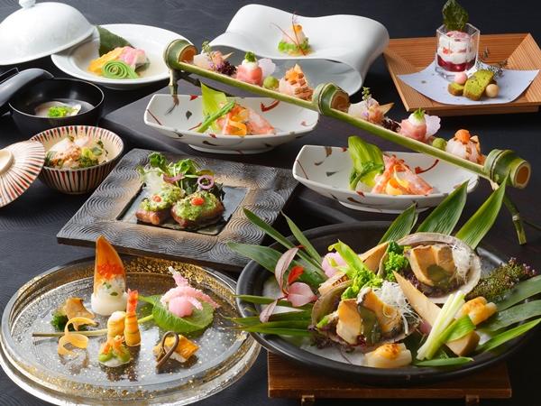 【ご夕食】山懐石(※写真は12〜2月の料理イメージとなります)