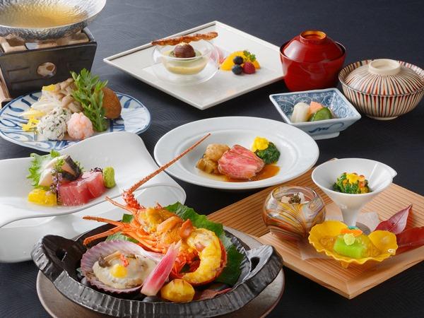 【ご夕食】伊勢海老付の和食御膳 ※写真はイメージとなります