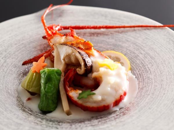 【ご夕食】山懐石(※写真は3月迄の料理イメージとなります)
