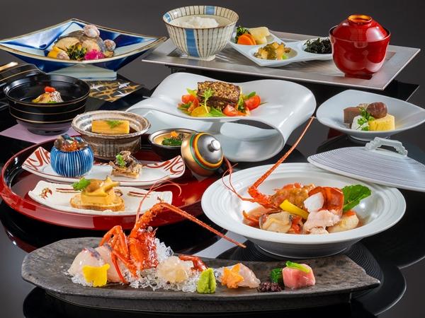 【ご夕食】山懐石(※写真は10〜3月の料理イメージとなります)