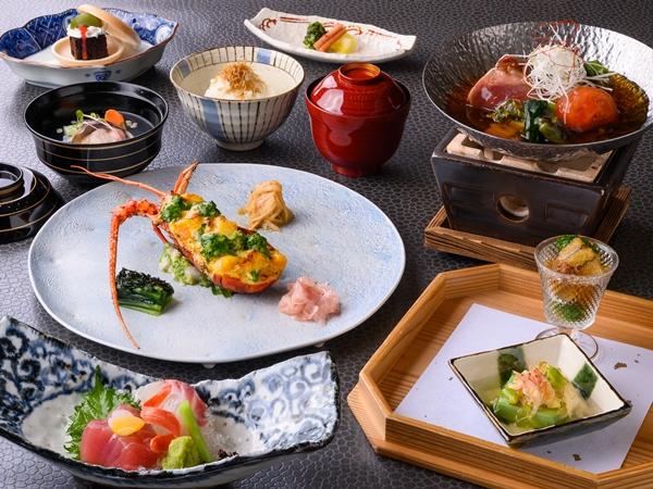 ご夕食】里海御膳(※写真は4〜9月の料理イメージとなります)