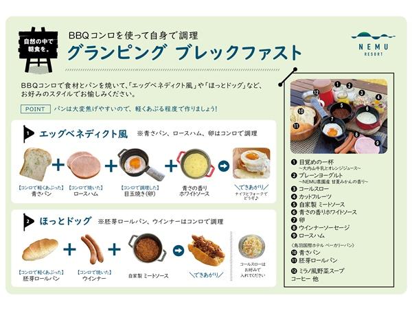 【グランピング朝食】愉しみ方のご紹介