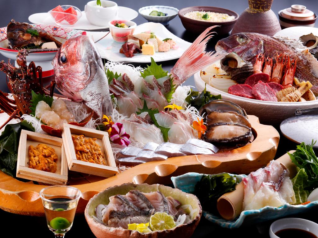 【四季のスペシャリテ】料理長こだわりのコース※シーズンにより内容が異なります(イメージ)