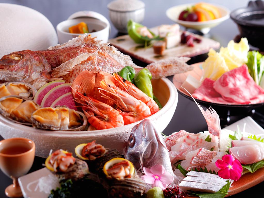 【季節だより】四季折々の旬菜を盛り込んだ季替り膳(イメージ)