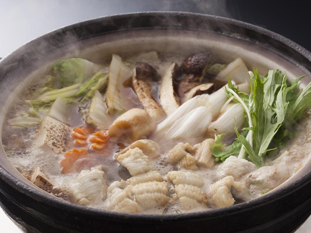 秋の穴子すき鍋(鍋イメージ)