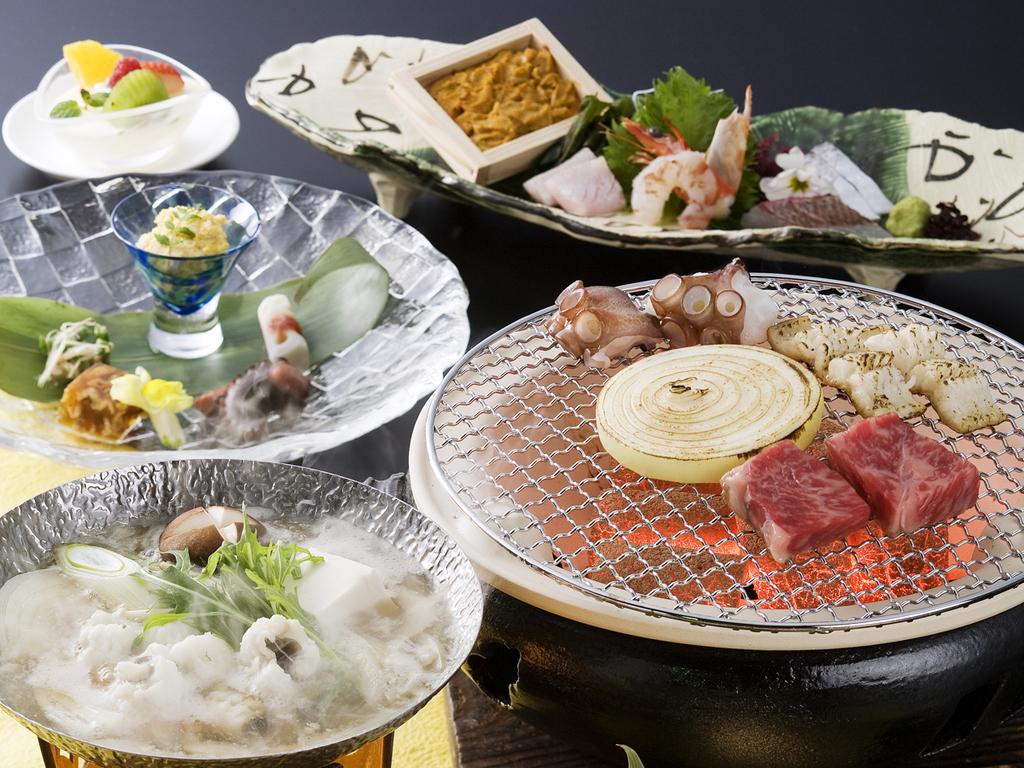 淡路島の旬の幸を炭火焼で(料理イメージ)