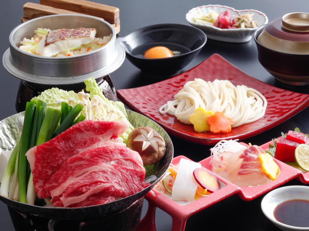 淡路牛すきぬーどる鍋(料理イメージ)