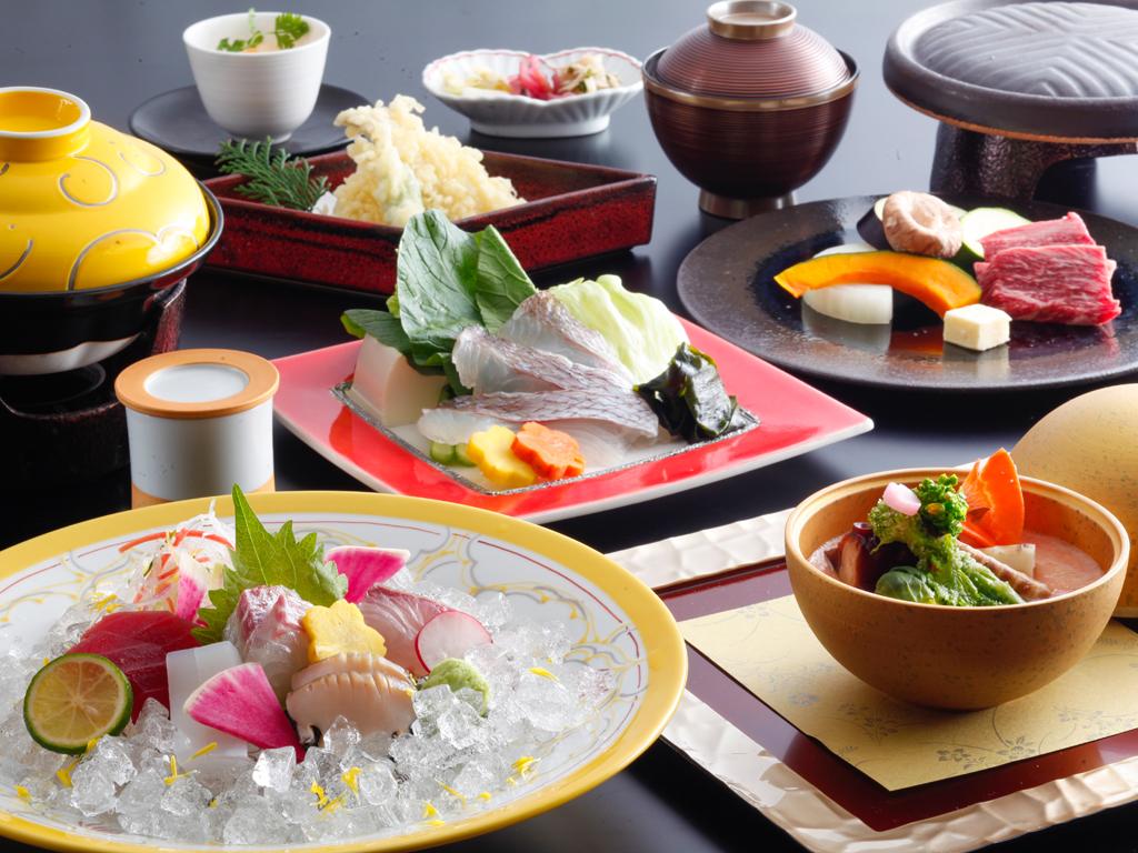 季節の和会席料理(料理イメージ)