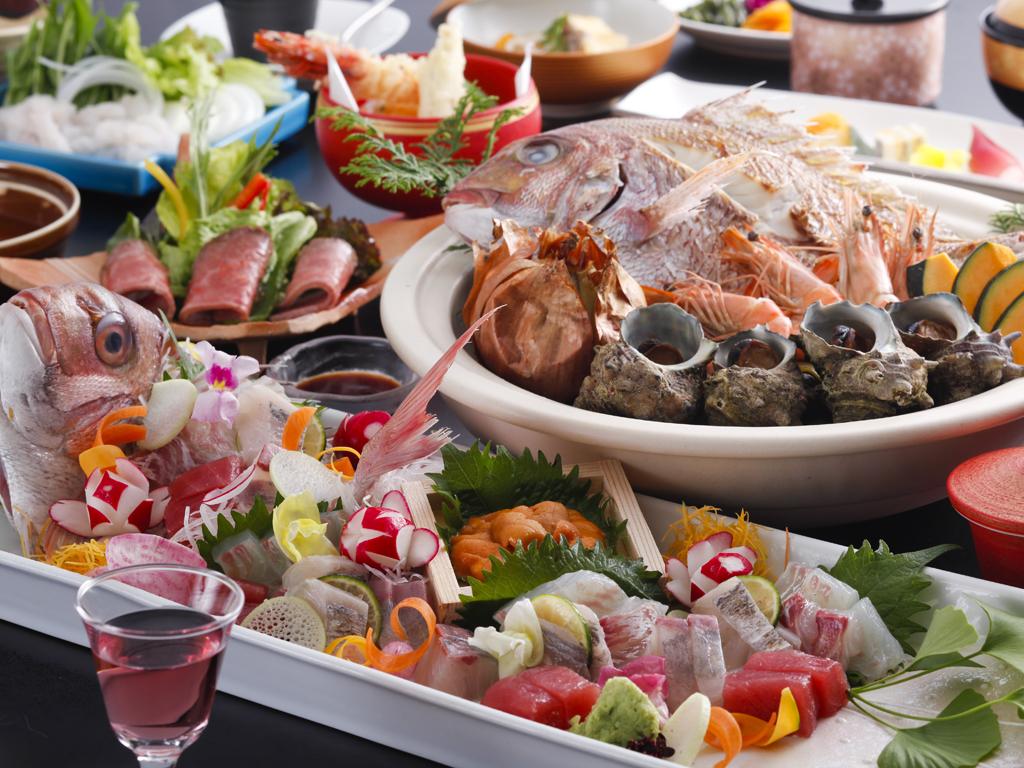 淡路島の旬の味覚を散りばめた特選料理(イメージ)