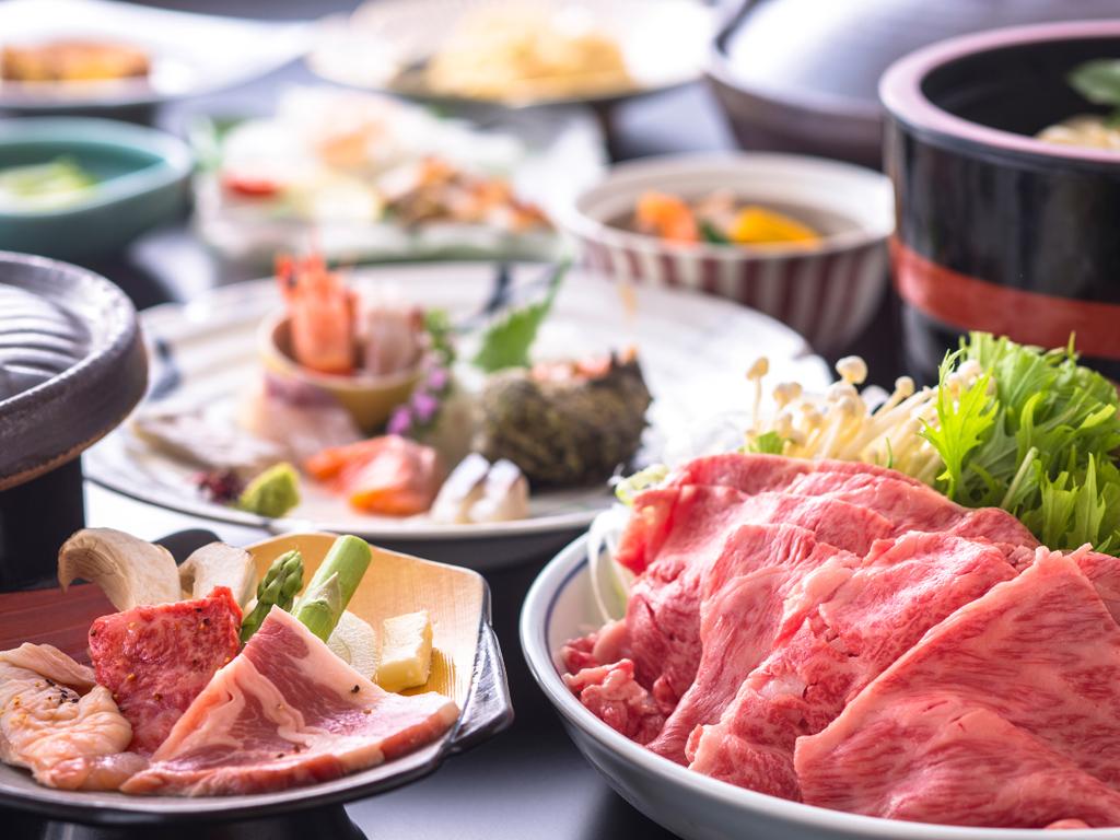 香川の美食ブランド【讃岐三畜を散りばめた会席(イメージ)】