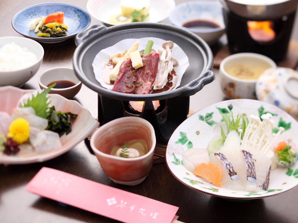 離れのお部屋で気軽に愉しむ和食膳(イメージ)