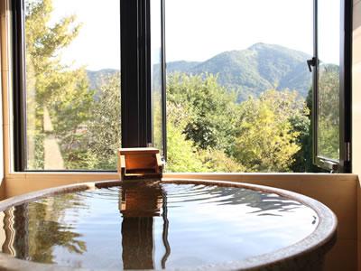 展望風呂付のお部屋がベストレートでご予約いただける早得プラン!