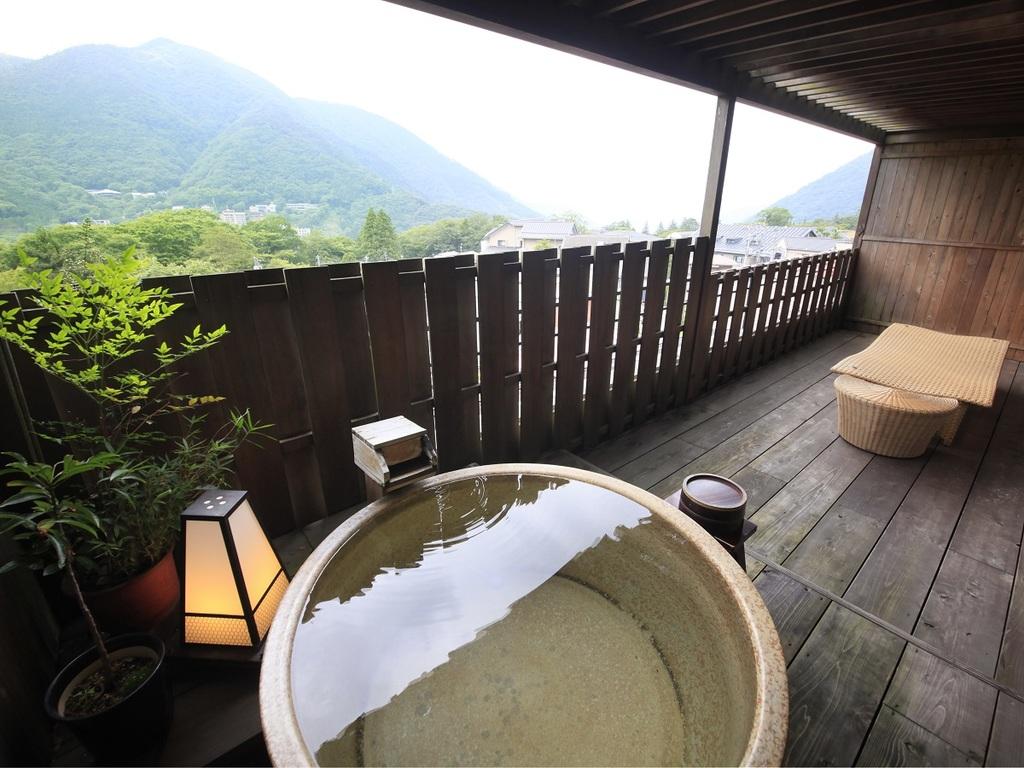 専用露天風呂付+和室12畳特別室「翠星」