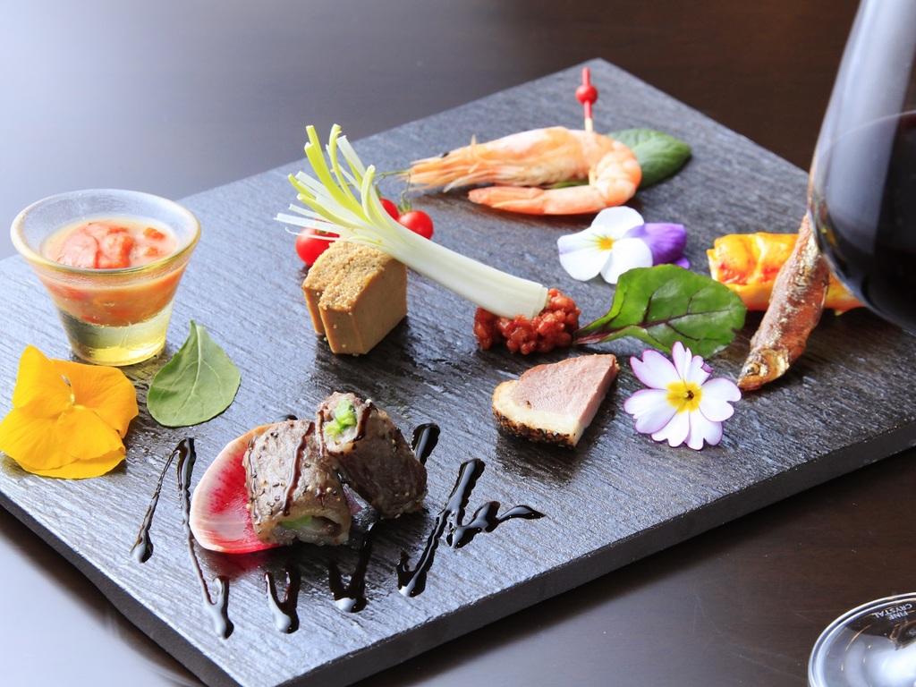 旬の食材に拘った和食会席