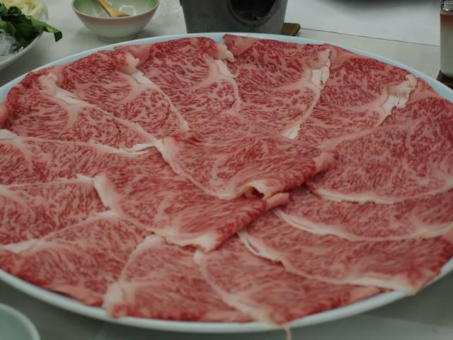 黒毛和牛しゃぶしゃぶ用お肉