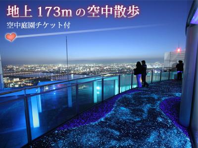 地上 173m の空中散歩 [空中庭園チケット付]