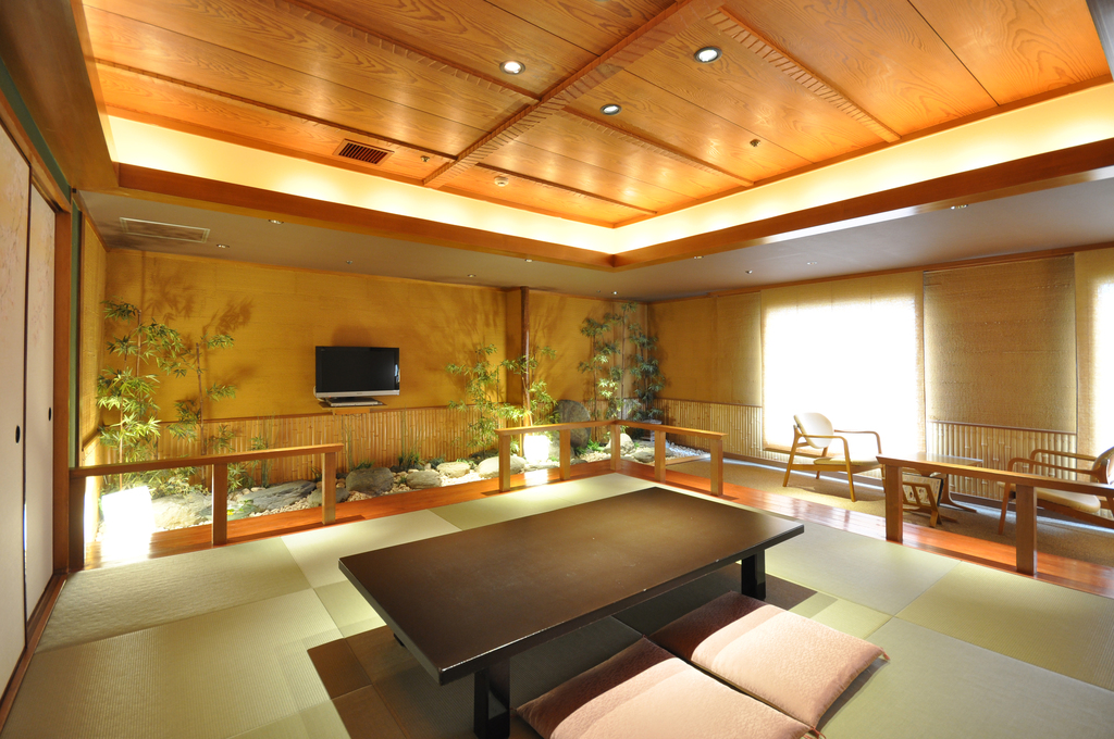 Stone garden room- Tatami area