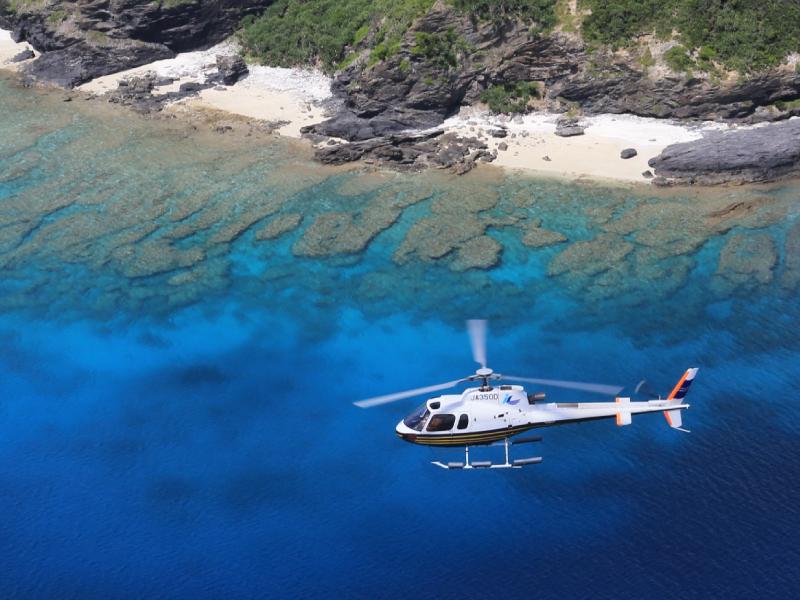 特別な思い出を・・ヘリコプターの遊覧飛行※イメージ画像※