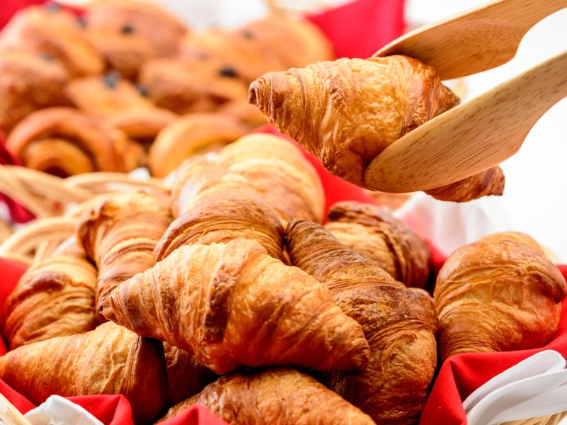 【朝食バイキング】レストランで焼きたてのパンはいかが?挽きたてコーヒーと共に「ほっ。」と安らぐブレックファースト